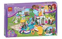 Конструктор Bela Friends 10611 Летний бассейн Хартлэйк, копия Lego Friends