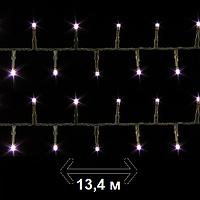 Гирлянда новогодняя сиреневая Luca Lighting 13,4 м (для дома и улицы), фото 1