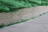 Одеяло стеганое детское зимнее QSLEEP 105*140 см зеленое, фото 3