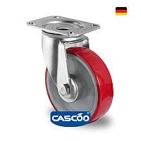 Колесо поворотное с роликовым подшипником 125 мм, полиамид/полиуретан (Германия)