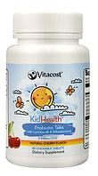 Пробиотики для детей, Vitacost, Probiotic Tabs for Kids, 3 миллиард CFU, 30 таблеток, скидка