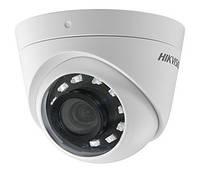 Купольная Turbo HD камера Hikvision DS-2CE56D0T-I2PFB, 2 Мп