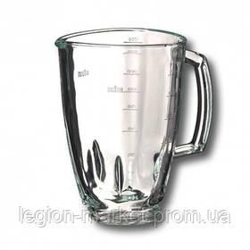 Чаша стеклянная 1750мл BR64184642 оригинал для блендера Braun