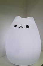 Силиконовый сенсорный LED светильник-ночник Котик