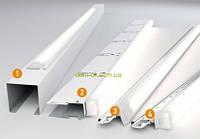 Светильник для грильято  Кraft LED-G -15,   600 мм х 2шт, комплект