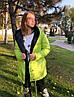 Женская двухсторонняя куртка на кнопках норма и батал. Разные расцветки