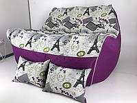 Мягкий и комфортный  Кресло мешок - Бескаркасный диван  с ткани оксфорд .мягкий Пуф.Бесплатная доставка !
