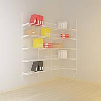 Угловая гардеробная система  Система хранения (консоль, стеллаж)