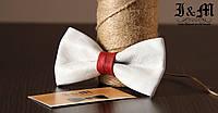 Кожаная галстук-бабочка I&M (010804)