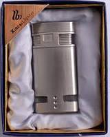 Зажигалка ХС3 Стильная зажигалка Подарочная зажигалка в серебристом цвете Забудьте о спичках Успейте!