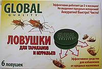 Глобал ловушки от тараканов 6 шт.