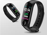 Фитнес браслет с тонометром Smart Band M3 фитнес часы для измерения давления