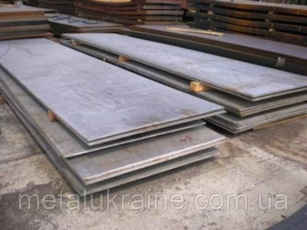 Лист металла 100 мм сталь 45