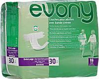 Подгузники для взрослых Evony 4 Extra Large 120-170см 30 шт