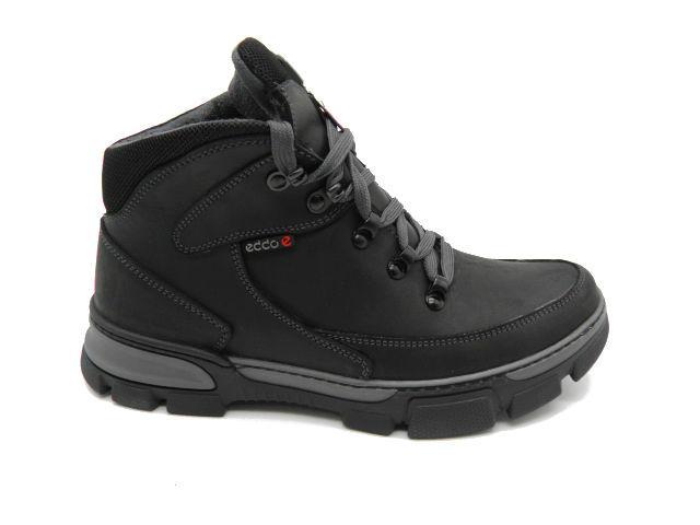Ботинки * Ecco 1 черный *10855