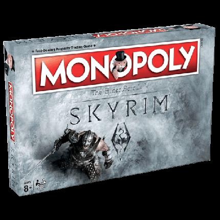 Настольная игра Monopoly: The Elder Scrolls V – Skyrim (Монополия Скайрим), фото 2