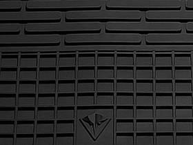 Geely GC 6 2014- Комплект из 2-х ковриков Черный в салон
