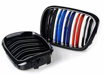 Решетки радиатора ноздри BMW E39 стиль M5 (цветные)