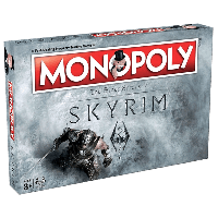 Настольная игра Monopoly: The Elder Scrolls V – Skyrim (Монополия Скайрим)