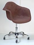 Крісло майстра Leon Soft коричневий, фото 3