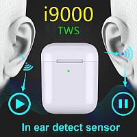 NEW i9000 ORIGINAL TWS Airpods 2  Лучшие Беспроводные наушники// функция АВТО распознания уха