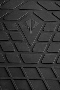Honda Pilot 2016- Комплект из 2-х ковриков Черный в салон