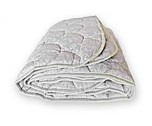 Одеяло стеганое зимнее QSLEEP полуторное Евро 150*210 см белое