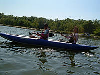 Надувная байдарка Red River 490, фото 6