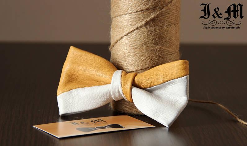 Кожаная галстук-бабочка I&M (010809), фото 2