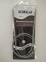 Спицы круговые для вязания Scheichi длина: 100 см диаметр: 4,5 мм; трос в силиконе, фото 1