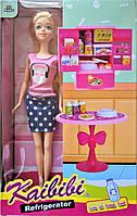 Кукла 30 см с набором для кухни, в коробке