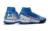 Сороконожки Nike SuperflyX VII Elite TF blue, фото 4