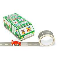 """Игровой набор Зеленый автобус """"Быстрый старт"""" Версия Эко(руc.язык)"""