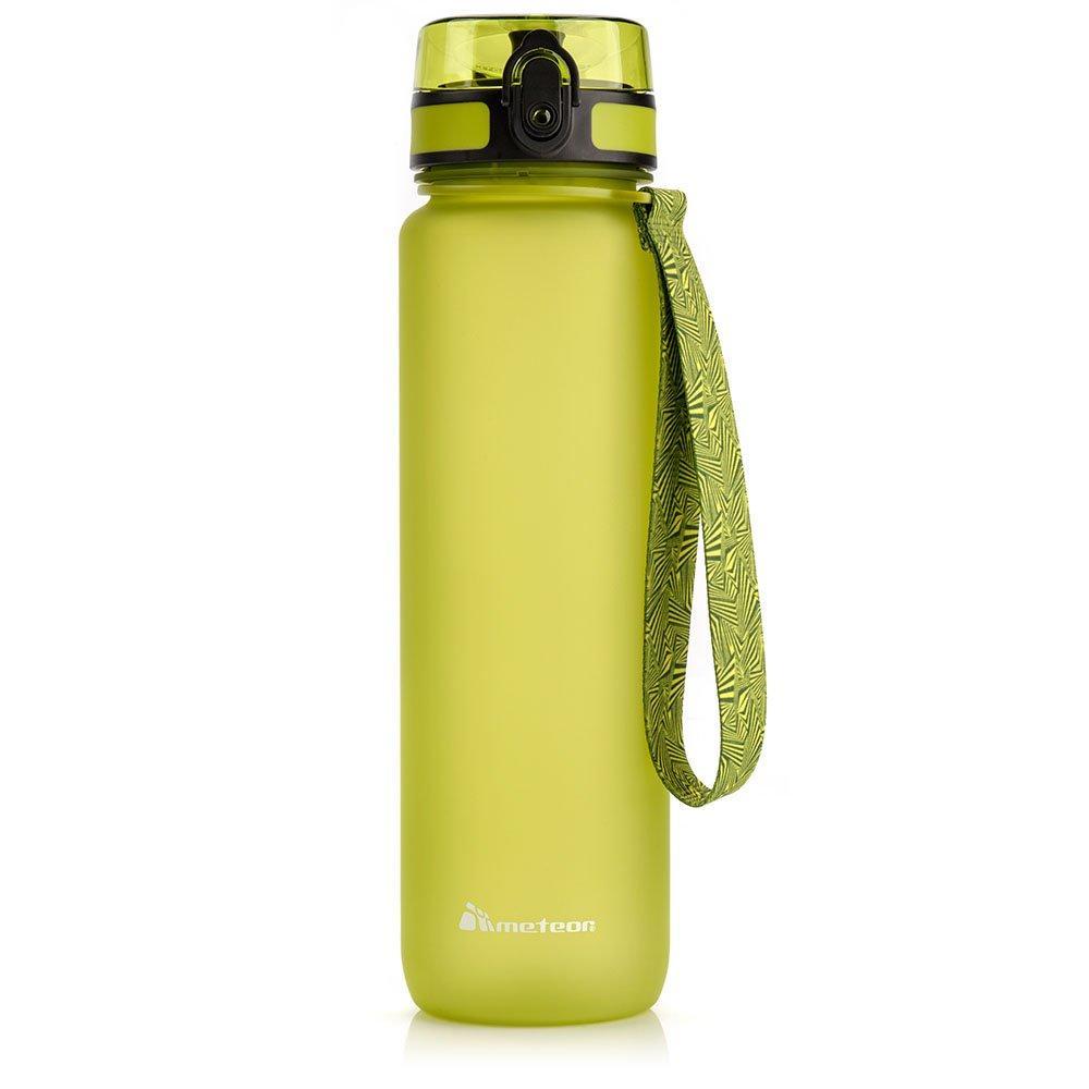 Бутылка для воды спортивная Meteor (original) 1L, спортивный поильник, спортивная фляга