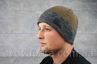 Мужская зимння шапка ShaDo 94 Коричневый