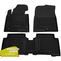 Резиновые коврики Hyundai Santa Fe 2012-2017 Avto-gumm