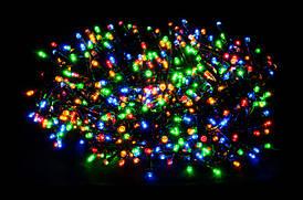 Светодиодная гирлянда Luca Lighting Змейка мультицветная 27,9 м