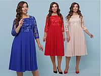 Красивое женское платье для полных