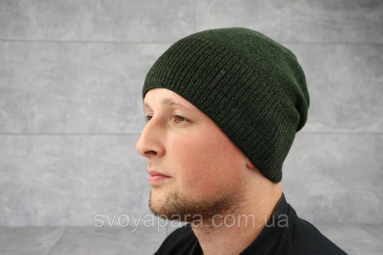 Мужская зимння шапка ShaDo 99 Мох