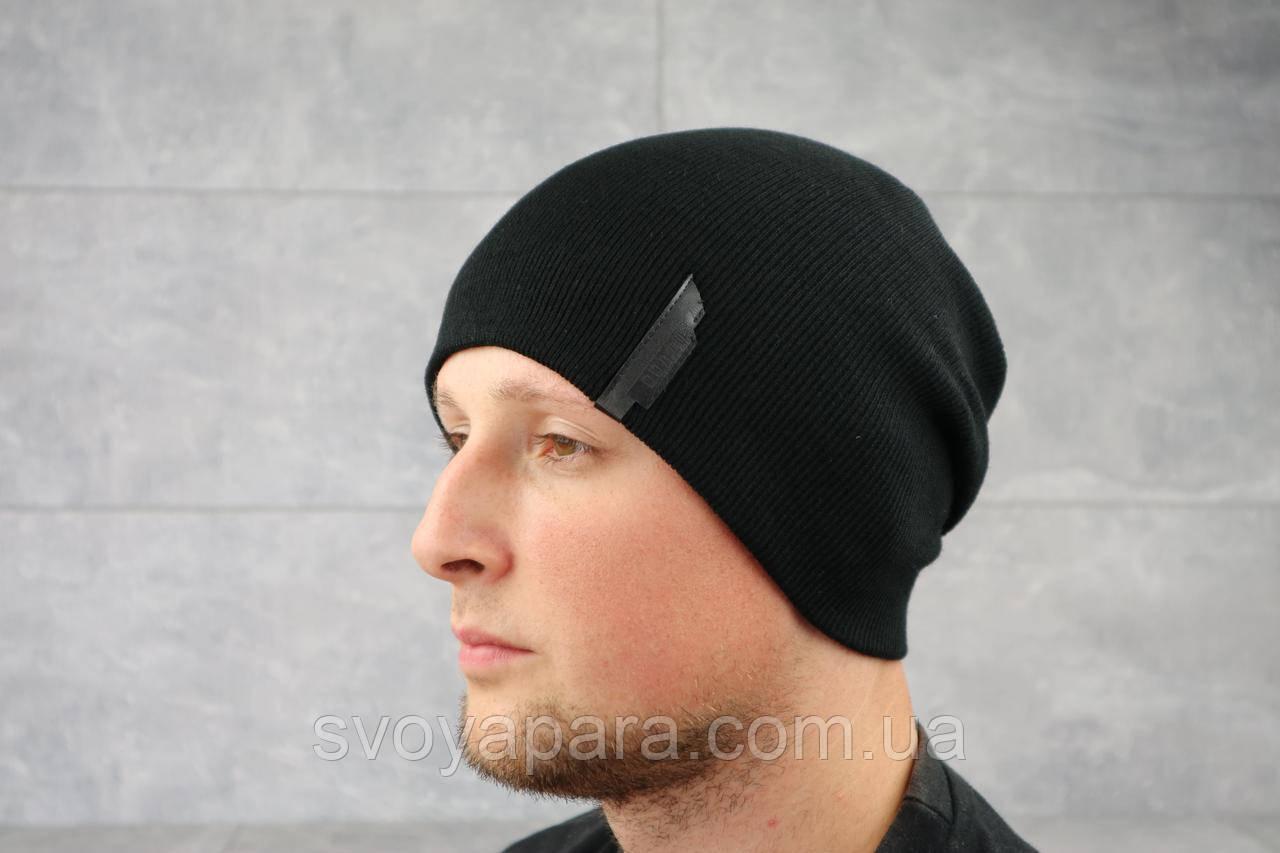 Мужская зимння шапка ShaDo 60 Черный