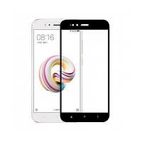 Защитное стекло Xiaomi Mi A1/Mi5x 5D прозрачное (черное) MiaMI