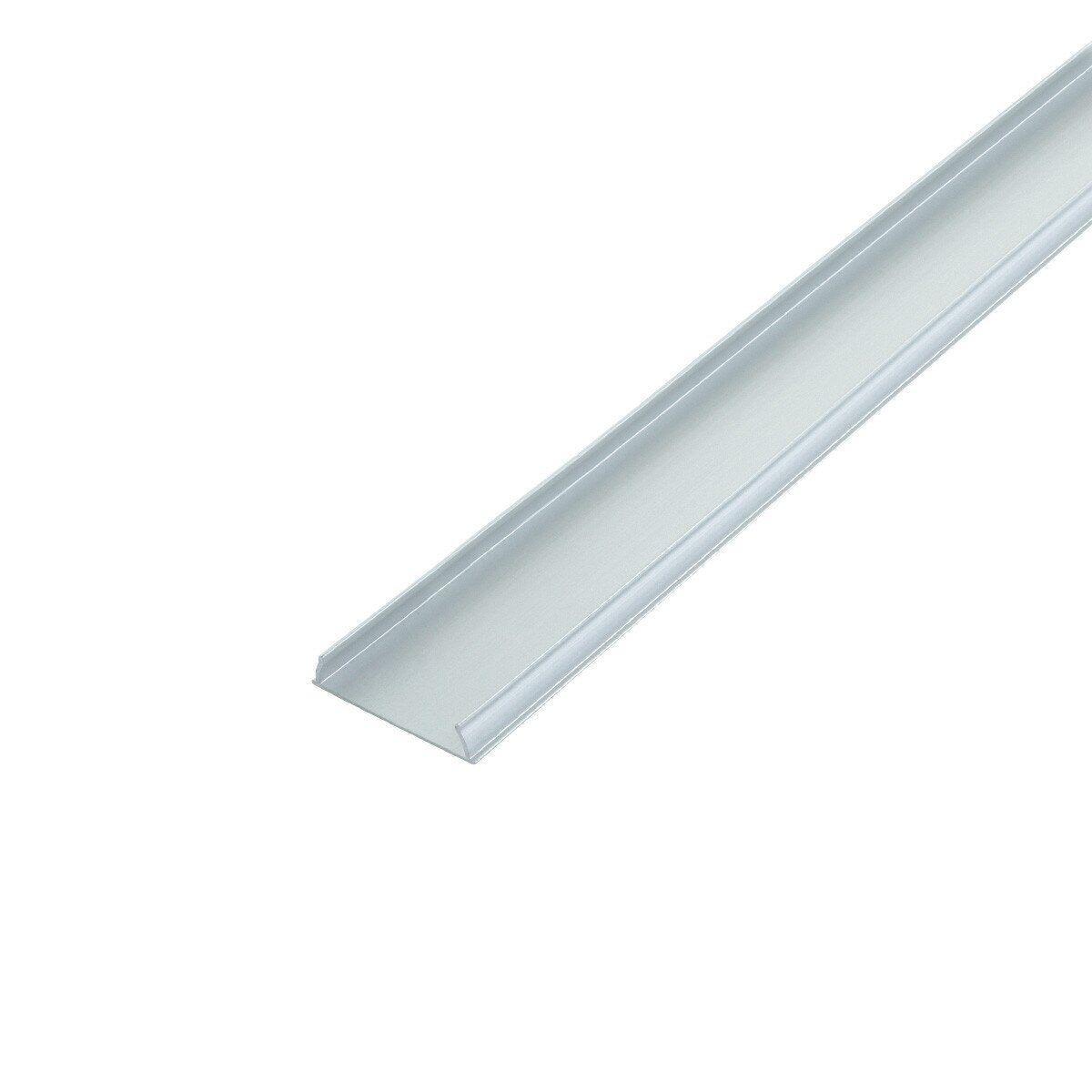 Профиль алюминиевый ЛПФ-5 гибкий Biom 4.8х18 (комплект профиль+линза), 2м