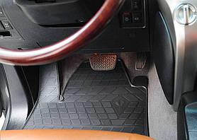 Lexus LX570 2008- Комплект из 4-х ковриков Черный в салон