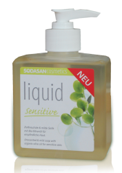 Органическое мыло Sensitiv жидкое для чувствительной и детской кожи 0,3 л