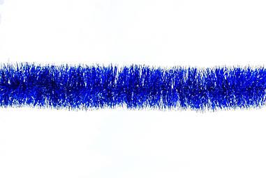 Гірлянда 75 (синя з серебр.конч.) 2м