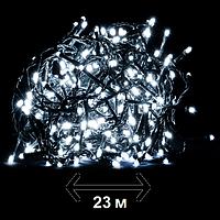 """Гирлянда новогодняя Luca Lighting """"Змейка"""", 23 м, цвет холодный белый (для дома и улицы), фото 1"""