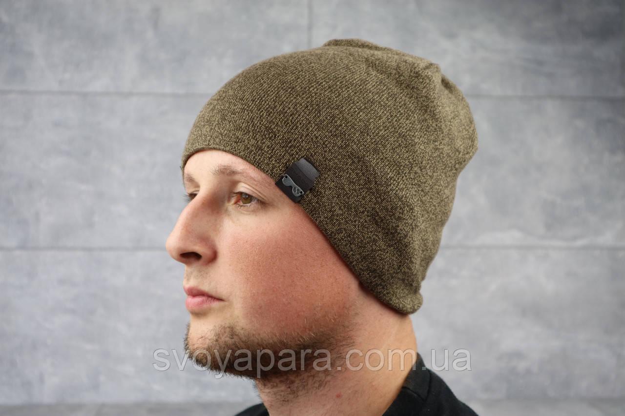Мужская зимння шапка ShaDo 17 Коричневый