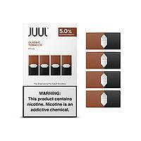Под картриджи для электронной сигареты Джул (Джул Pods) Classic Tobacco / Табак классика