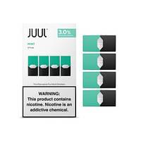 Под картриджи для электронной сигареты Джул (Джул Pods) Cool Mint / Двойная Мята