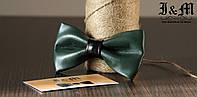 Кожаная галстук-бабочка I&M (010811)